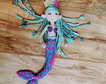 Mermaid Princess Doll