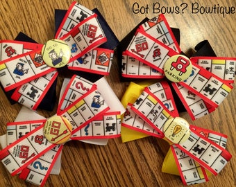 The Monopoly Hair Bow Collection