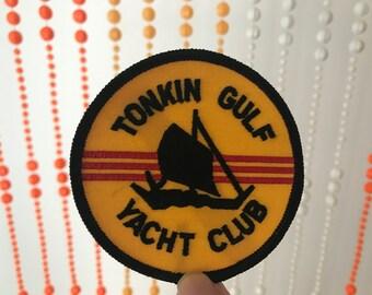 Vintage Tonkin Gulf Yacht Club Patch