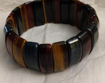 Tigers Eye Multi-Stretch Bracelet