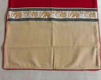 Handmade Pillow Cover | Hmong Pillow Cover | Bohemian pillow | Boho pillow | Throw pillow | Decorative pillow | Embroidered pillow