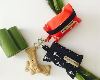 Ready to go /Distributeurs poop bag / case poop bag / dog/dog/flamingo/anchor/Flemish/anchors
