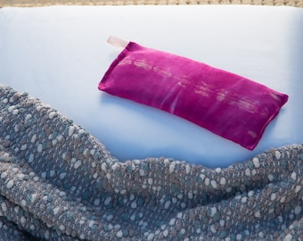Herbal Rice Pillow in Pink Tye Dye
