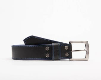 Handcrafted leather belt // London