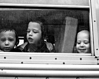 School bus, Brooklyn, NYC.
