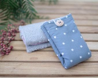 Cotton Wipe   Blue Night & Stars