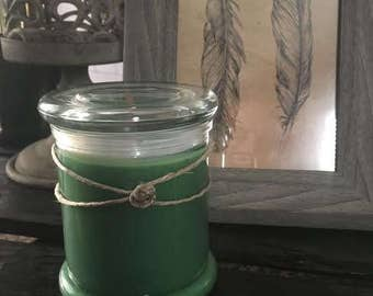 Peppermint wood wick