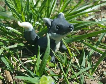 Midnight Black Fox