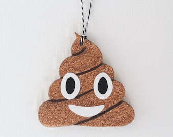 Poop Emoji Ornament | Christam Gifts | Ornament Exchange