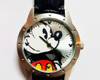 Disney Mickey Mouse Wrist Watch Limited Release, Limited Edition Disney Watch