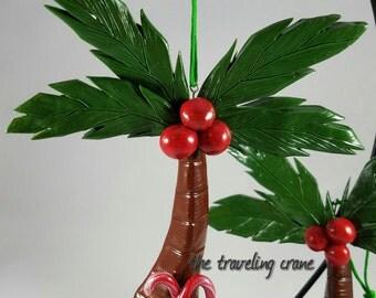 Polymer Clay, Christmas palm tree