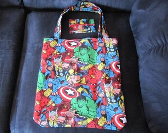 Marvel's The Avengers Tote Bag and Tissue Cover Set