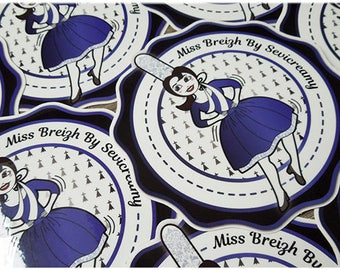 "Sevicreamy ""Miss By Sevicreamy Breizh"" stickers"