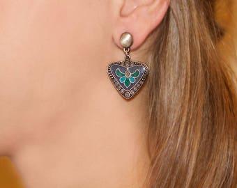 Craftsman high-fashion earrings