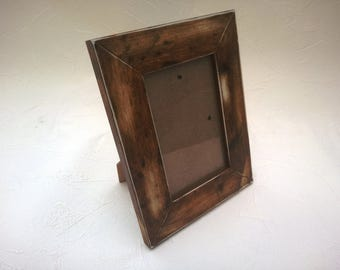 Vintage rustic style picture frames 6x4