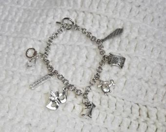 FSoG Charm Bracelet, Fifty Shades Inspired Charm Bracelet, Charm Bracelet, Fangirl Gift, Gift for Her, Gift for Girls, Birthday Gift