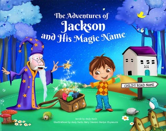 Children's Book with Personalisation - Gift for Kids. Present for Nephew, Kids Story Books, Personalized Gifts - NEXT DAY DISPATCH
