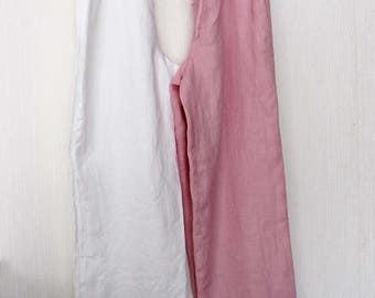 Linen Pajama pants. Linen trousers .Stonewashed soft Lithuanian linen sleepwear.Designed/made by AnBerlinen