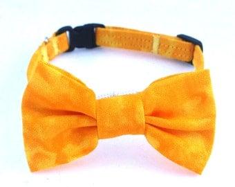 Cat Collar - Bow Cat Collar - Puppy Collar - Breakaway Cat Collar - Cat Leash Collar - Cat Leash - Small Dog Collar -  Bright Cat Collar
