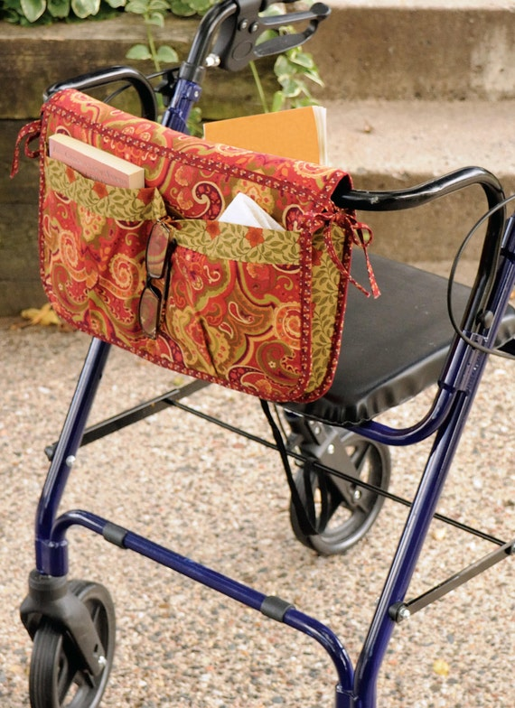 Sewing Pattern For Wheelchair Walker Carryall And Carrier