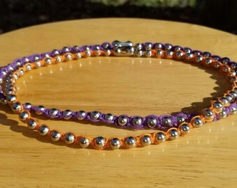 Hemp Ball Chain Necklace FREE SHIPPING