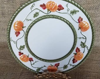 Decorative Pumpkin Plate For Your Wall, #351