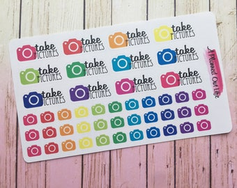 Camera Planner Stickers/Mixed