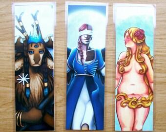 Laminated Holographic Bookmarks