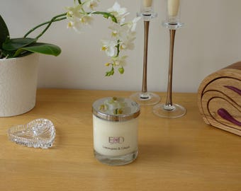 Classic  Glass Soy Wax Container Candle