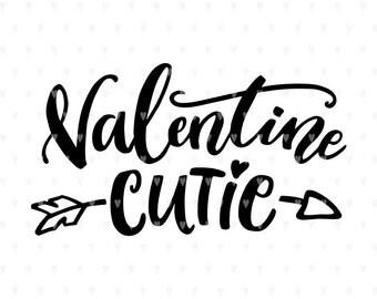 Valentine svg, Valentine cutie svg, Love svg, Valentines svg file, Heart svg, Valentines quote, svg cutfile, svg for cricut, Cute svg