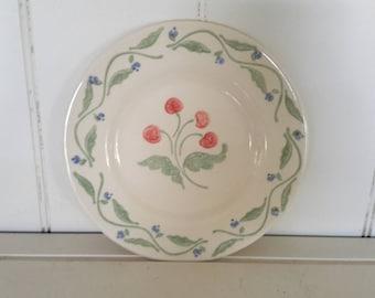 Set of Eight Pfaltzgraff Salad Plates, Pattern Honeybrooke