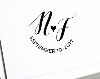 Wedding monogram • Personalized design •  Wedding logo • DIY wedding