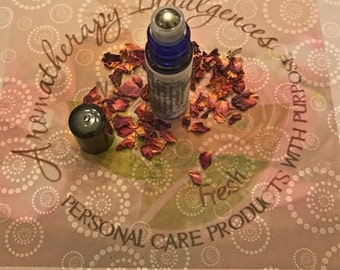 Spellbound Rose - Rose Aromatherapy Perfume - Essential Oil Perfume - Natural Perfume - FREE SHIPPING