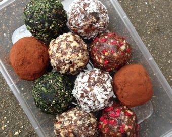 Raw Fruit & Nut Energy Balls (pack of 10)