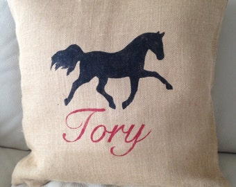 Personalized Pony Pillow Case