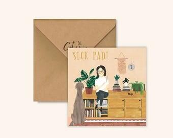 Sick Pad by Chloe Joyce Designs