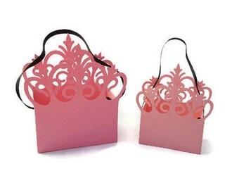 Princess Crown Favor Bags, SKU# BXBD0109, Party Favors, Favor Boxes