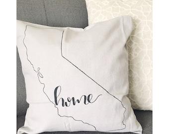California Home Pillow