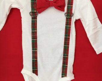 Boy's Christmas onesie