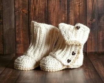 Baby Girl Boot, Kid Boot, Crochet Slipper Boot, Baby Wrap Boot, Crochet Baby Boot, Crochet Baby Shoe, Crochet Wrap Boot, Baby Shower Gift