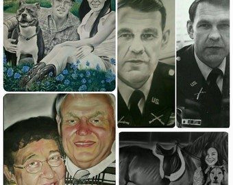Examples of Portrait Drawings