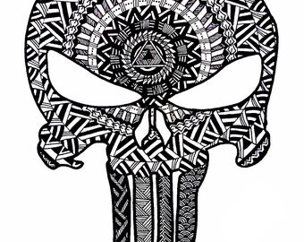 Punisher skull logo