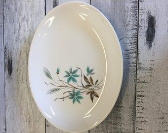 Georgian China Canadian Wheat Platter