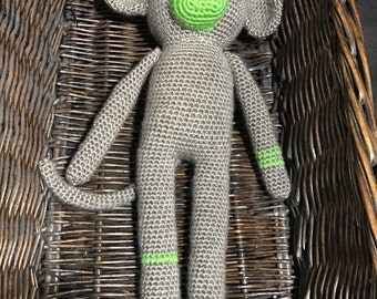 Maxwell the Monkey | Crochet Amigurumi | Stuffed Animal Toy