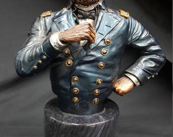 "Limited Edition Ulysses S. Grant ""Victory at Hand"" Sculpture by Legends"