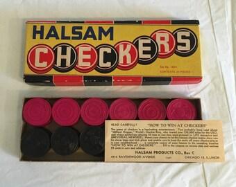 Halsam Checkers Chicago Illinois 1940s