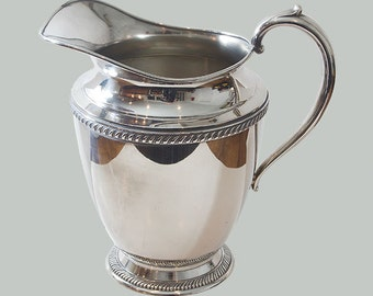 Vintage Silverplate Water Jug