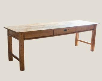 Vintage Pine Farmhouse Table