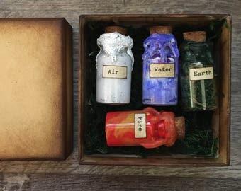 Elements in Bottles