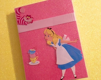 Personalized Disney Alice in Wonderland Themed Autograph/Photo Book